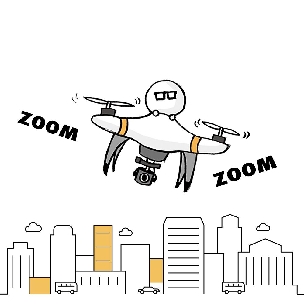 ドローン運用のアイコン